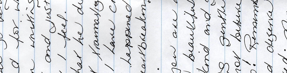a letter from my mother natalielauchlan