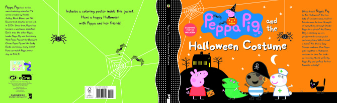 Peppa Pig and the Halloween Costume - SUSANNA CHAPMAN