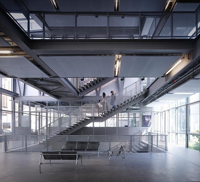 École Nationale Supérieure d\'Architectureby Marc MimramStrasbourg F ...
