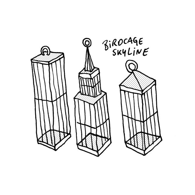 birdcage-skyline - Recreate everything | Sebastian Jung | Illustrator