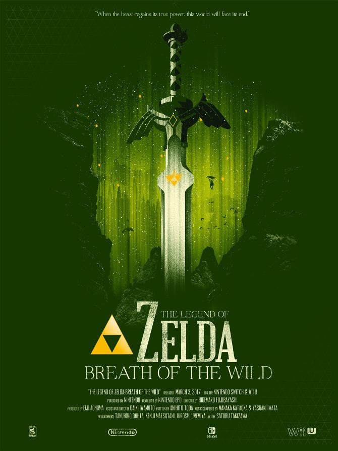 The Legend Of Zelda Breath Of The Wild Marinko